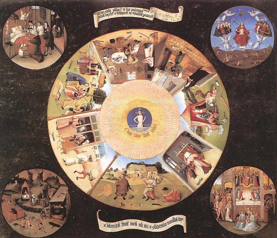 Hieronymus Bosch - De sju dödssynderna