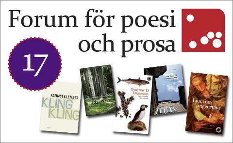 God Jul önskar Forum för poesi och prosa