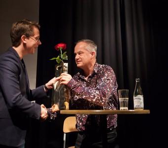 Øyvind Rimbereid blev den 300e författaren på vår scen!