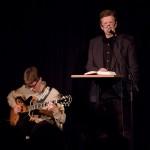 Tobias Andersson och Dan Berglund framförde en text av Lars Andersson